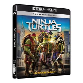 Jaquette 4k Ninja Turtles 1