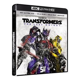 Jaquette 4k Transformers 5 : The Last Knight
