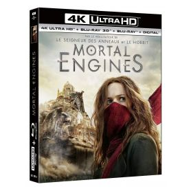 Jaquette 4k Mortal Engines