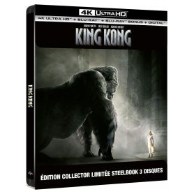Jaquette 4k King Kong 2005