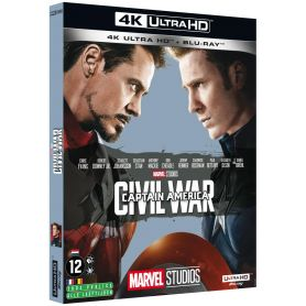 Jaquette 4k Captain America 3 : Civil War