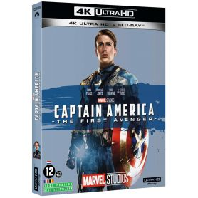jaquette 4k Captain America : The First Avenger