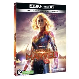 Jaquette 4k Captain Marvel