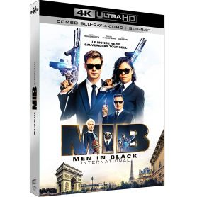 jaquette 4k Men in Black : International