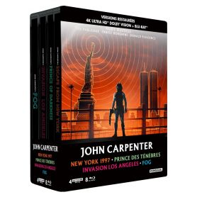 Jaquette 4k Coffret John Carpenter