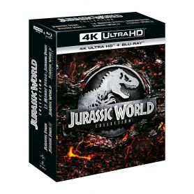 Coffret 4k Jurassic World Collection