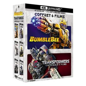 Jaquette 4k Coffret Transformers 6 films