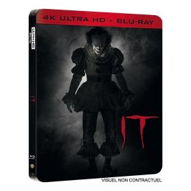 Jaquette 4k Ça (it) édition SteelBook