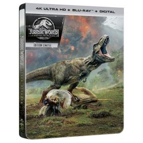 4k Steelbook Jurassic World : Fallen Kingdom