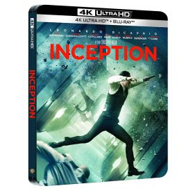 Visuel Steelbook 4k Inception