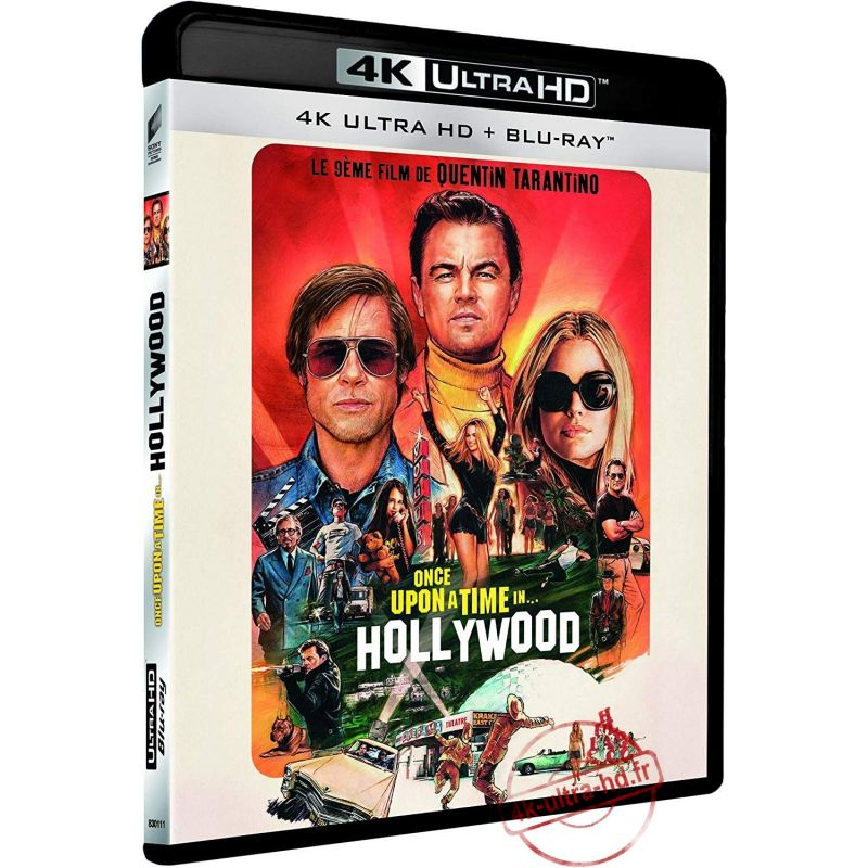 Visuel 4K Once upon a time in... Hollywood