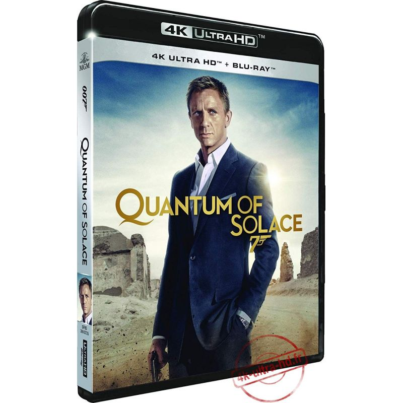 Visuel 4k Quantum of Solace