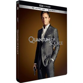 Visuel 4k Steelbook Quantum of Solace