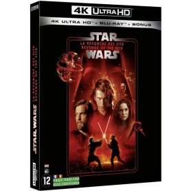 Visuel 4k Star Wars - Episode III : La revanche des Sith