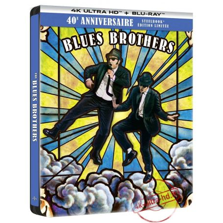 Visuel 4k Steelbook Blues Brothers