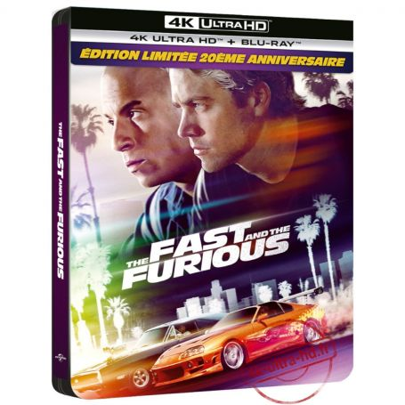 Fast and Furious 4K Steelbook