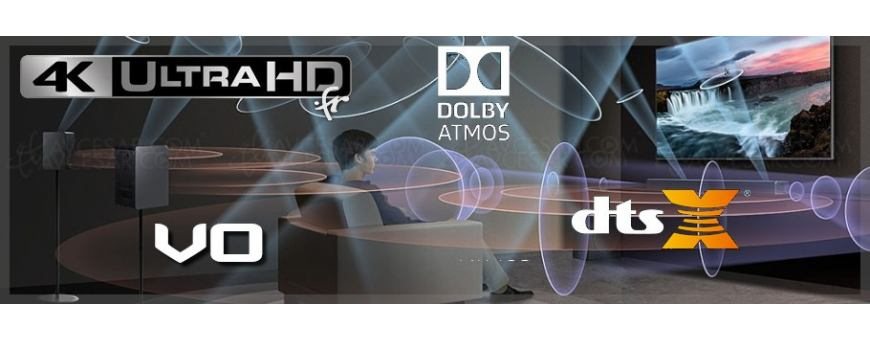 Blu-ray Ultra-hd 4k avec Dolby Atmos ou DTS:X en Version Originale